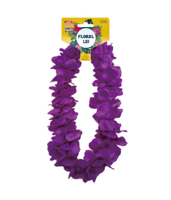 hawaii hula lei purple 12/600s