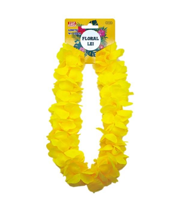 hawaii hula lei yellow 12/600s