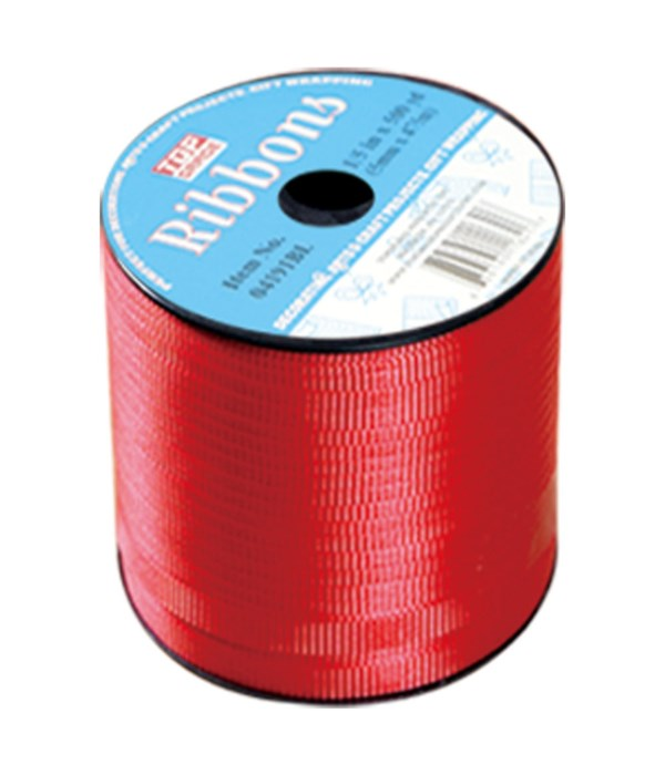 500yd ribbon red 6/48s