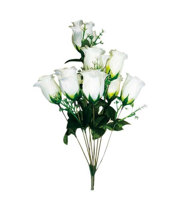 10-heads rose/white 72s
