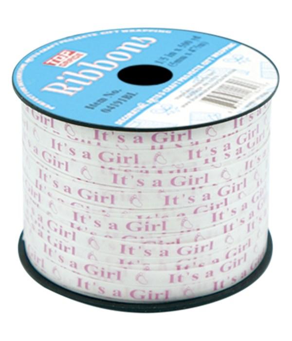 ribbon it's a girl 12/144s