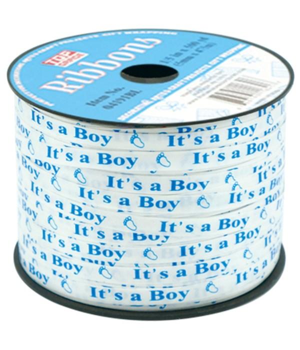 ribbon it's a boy 12/144s