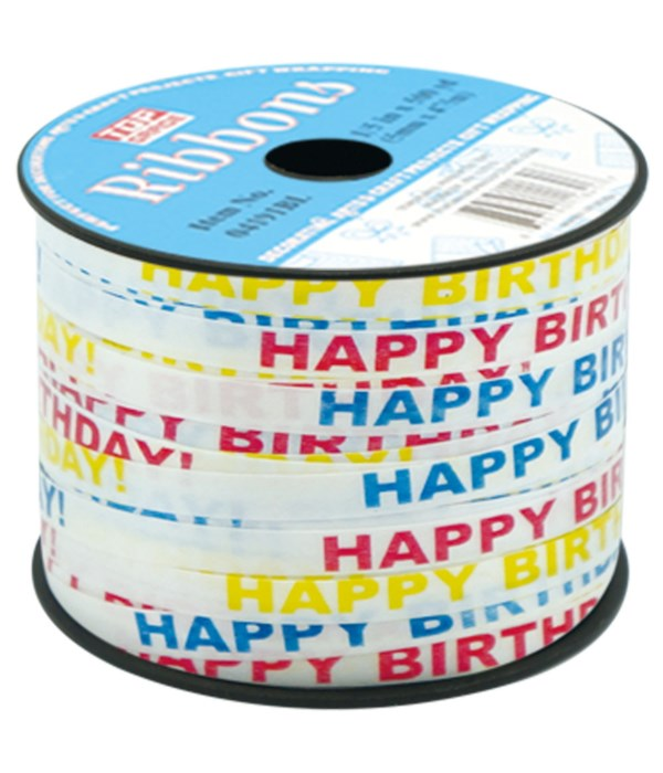 HP b'day ribbon 12/144s