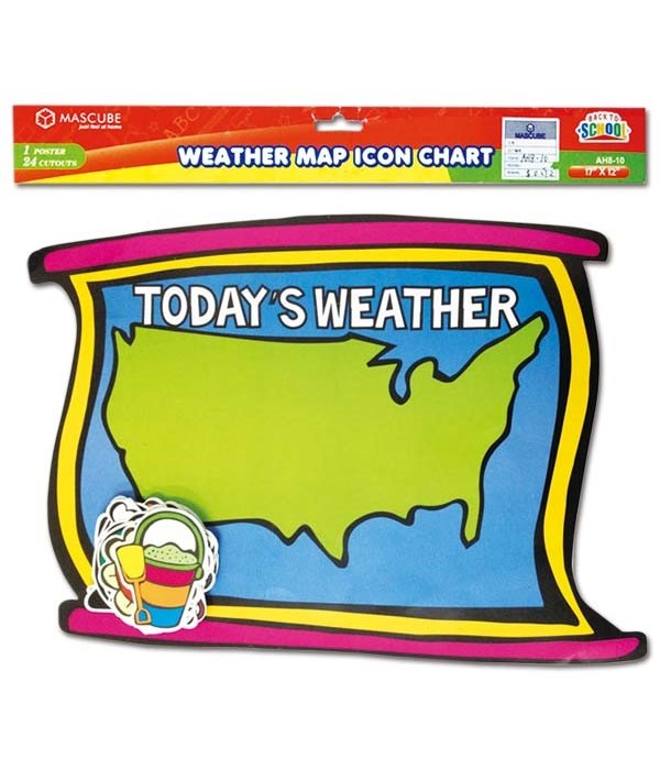 weather map chart 24/144's