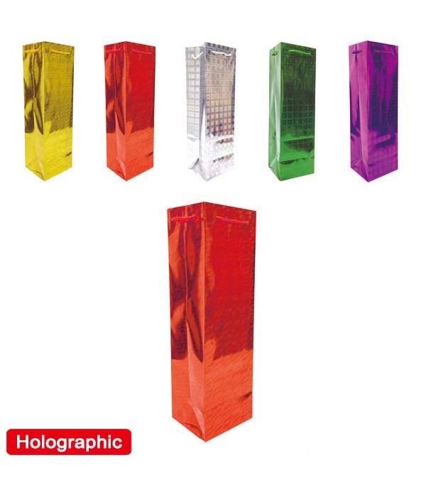 "holo. wine bag 5x14.5x3.5""/72s"