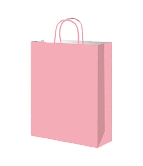 paper loot bag pink 12/60s