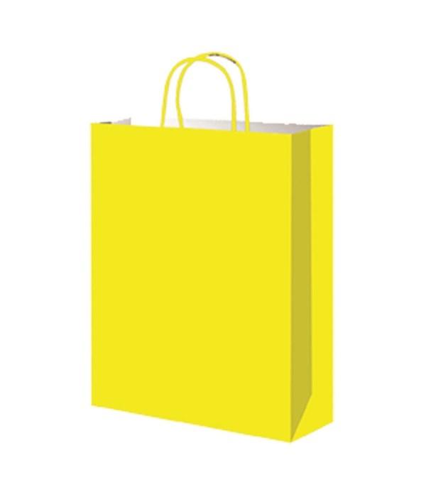 paper loot bag yellow 12/60s
