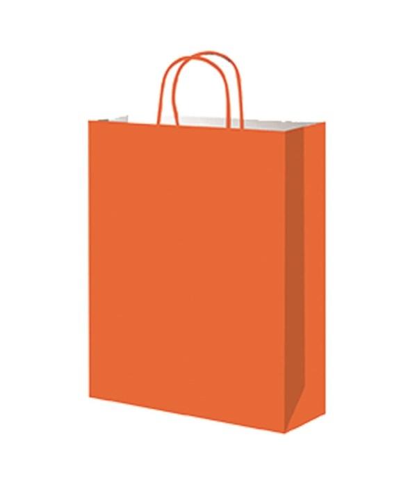 paper loot bag orange 12/60s
