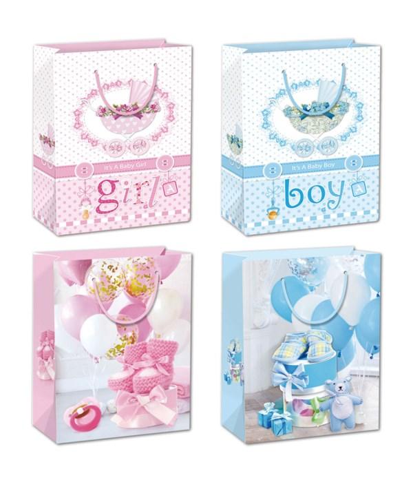 "baby gift bag 13x18x5.5""/XL"