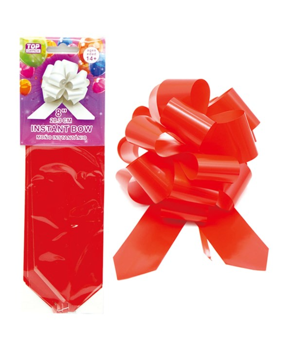 """8""""instant bow red 24/1440s"""