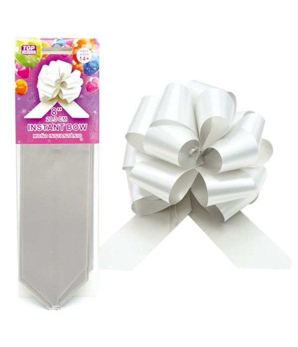 """8""""instant bow silver 48/1440s"""