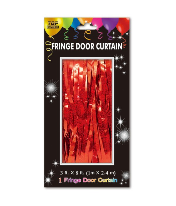 fringe door curtain 24/144s