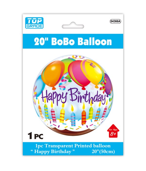 """20"""" bobo balloon 12/300s"""