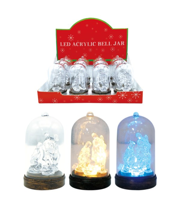 crystal LED religious 12/240s