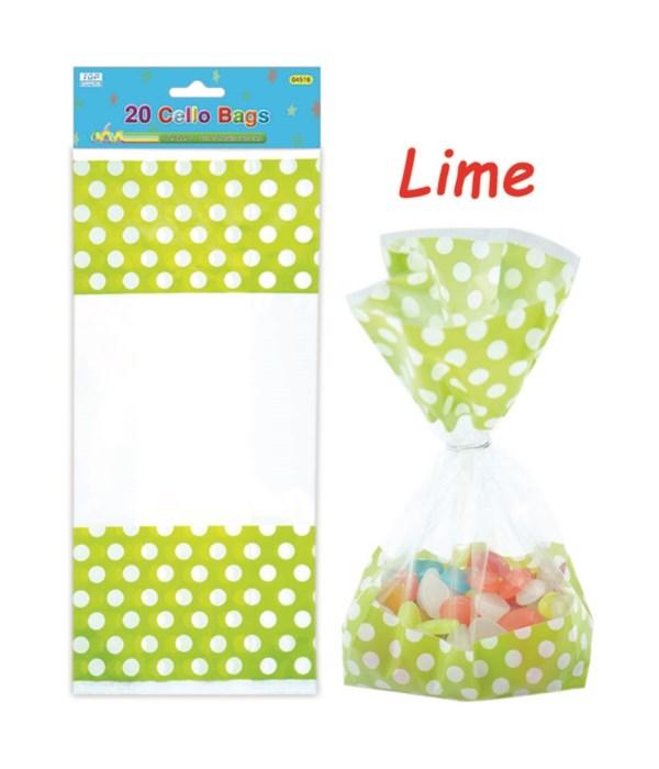 palka dot loot bag green
