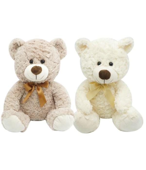 "11"" bear brown&Ivory 24s"
