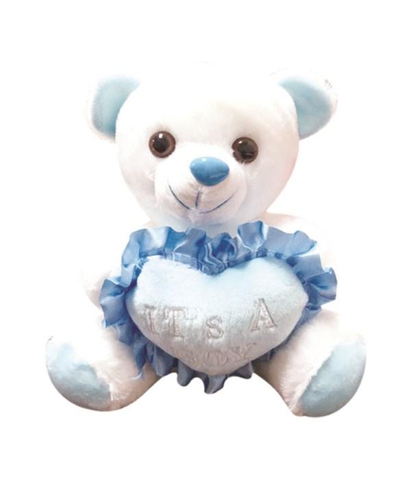"""8"""" bear it's a boy 24s"""