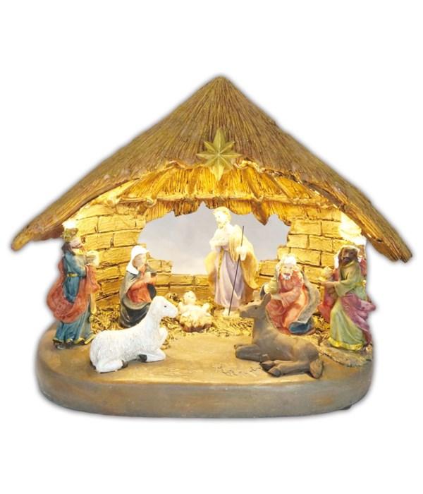 holy family nativity set 8s