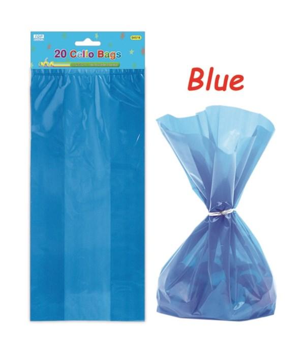 20ct loot bag dk blue 24/288