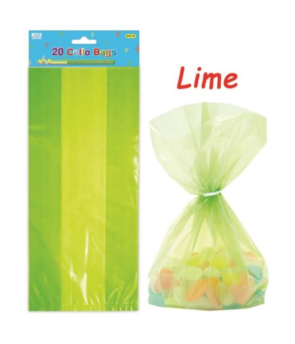 20ct loot bag green 24/288