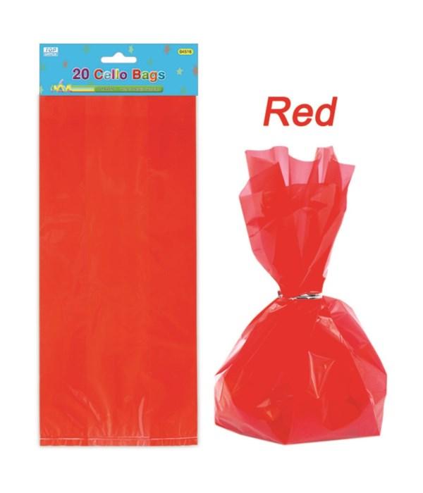 20ct loot bag red 24/288
