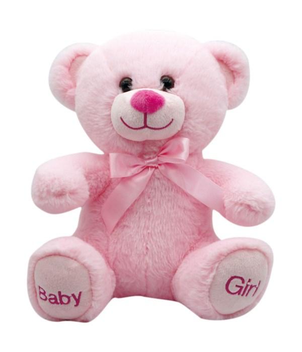 "10"" bear ""baby girl"" 24s"