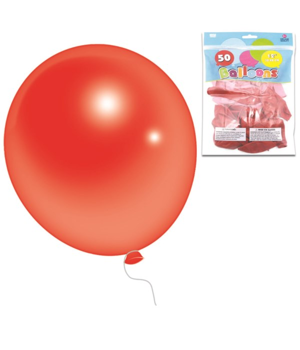 """12""""/50ct pearly balloon 6/96s"""