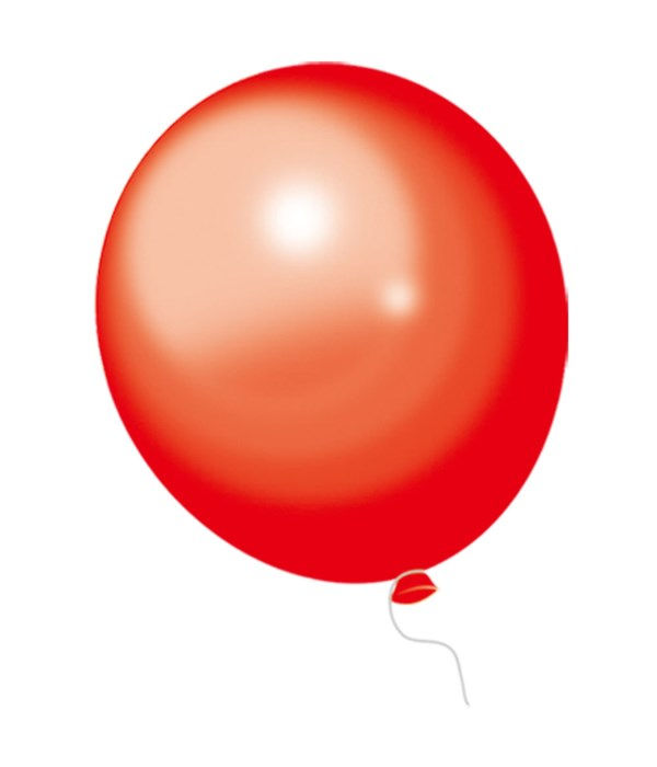"""12""""/10ct balloon red 12/288s"""