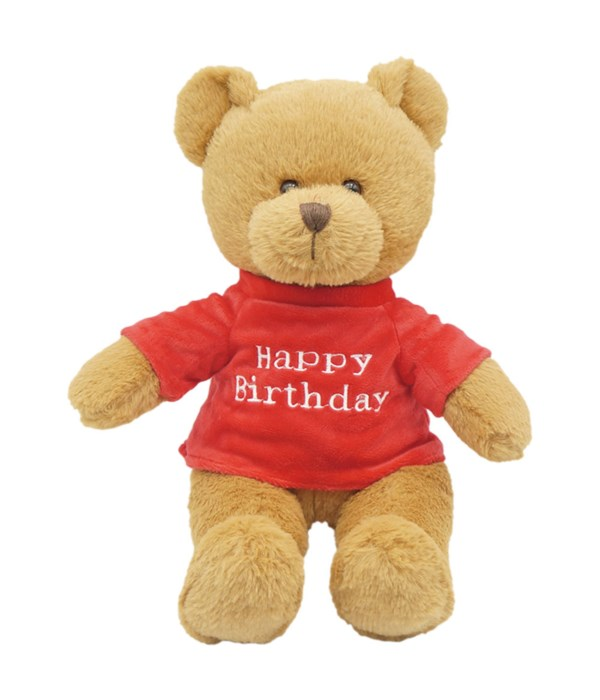 "11"" b'day bear brown 12s"