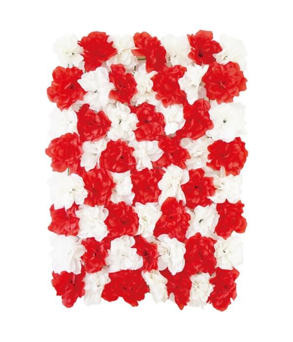 flower wall backdrop 6/48s