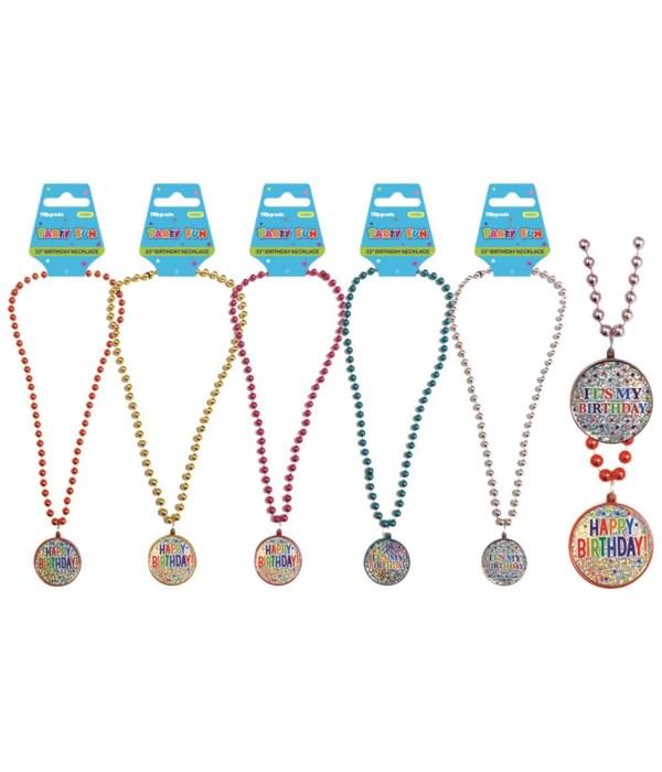 birthday necklace 12/144s