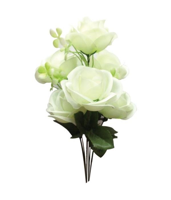 7-heads white flower 72s