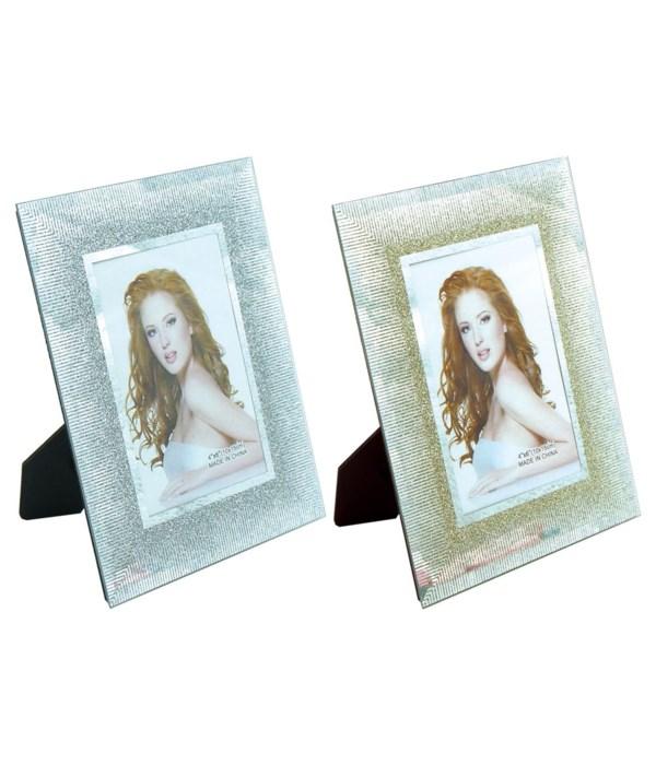 "photo frame astd clr 4x6""/48s"