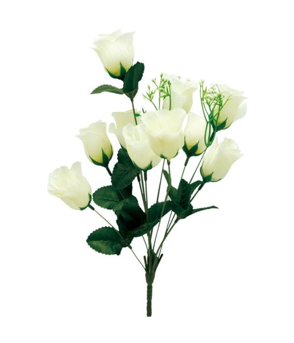 "14"" 10-head rose ivory 24/192"