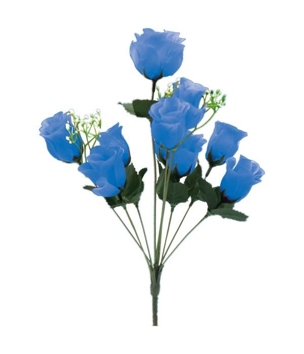 "14"" 10-head rose blue 24/192s"