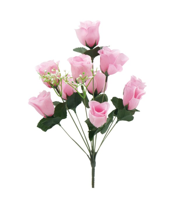 "14""10-head rose hot pink24/192"