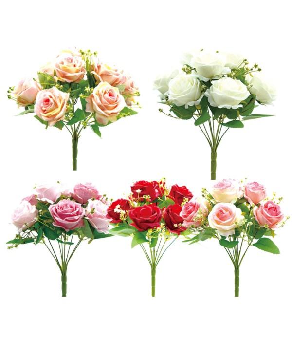 9-heads flower astd clr24/96s