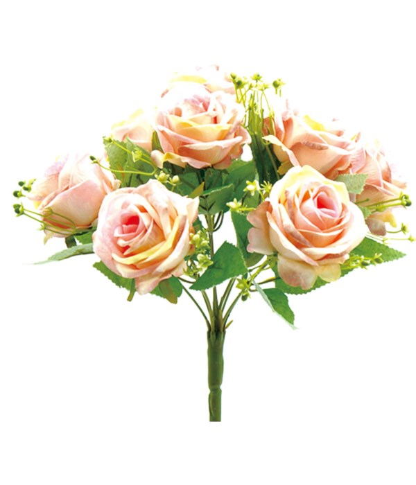 9-heads flower peach 24/96s