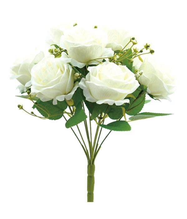9-heads flower White 24/96s