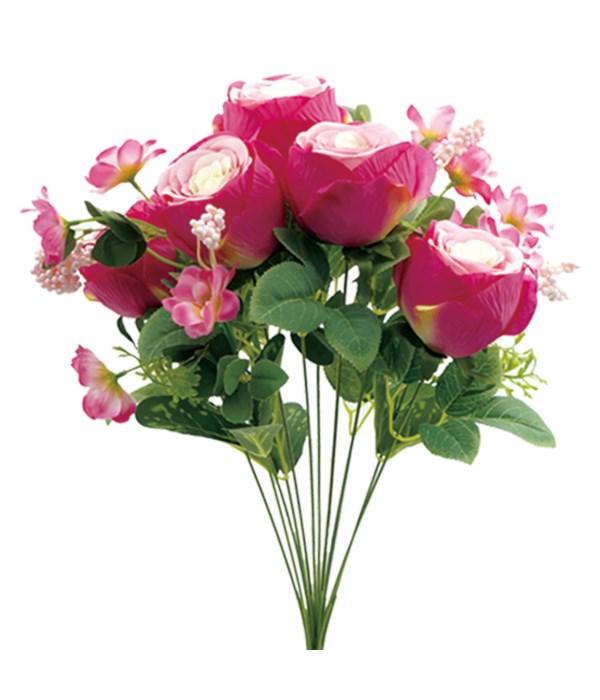 12-heads flower H-pink 24/96s