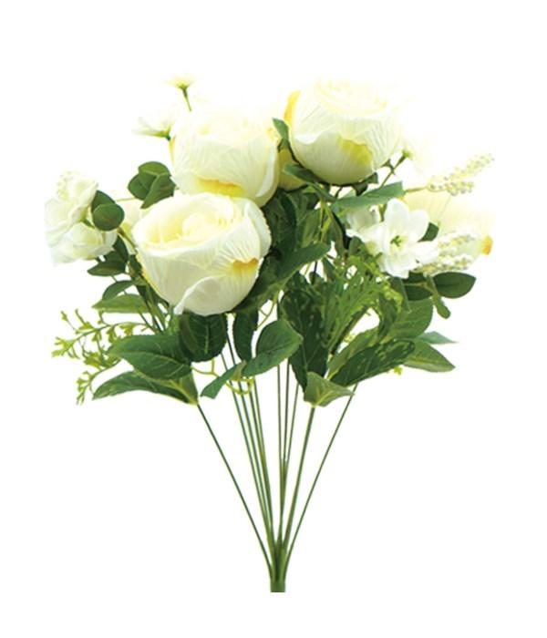 12-heads flower White 24/96s