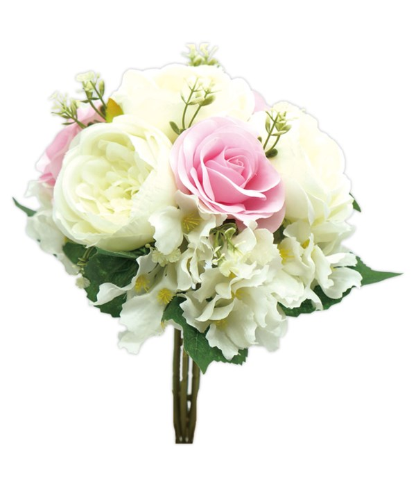 rose bouquets pink 12/120s