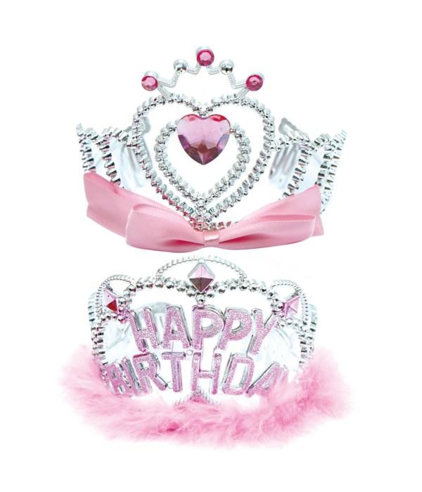 """5"""" b'day tiara 12/288s"""