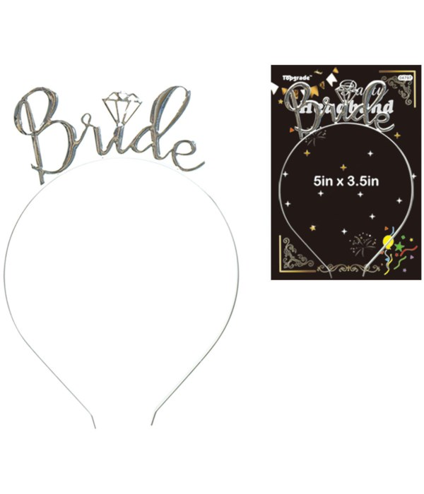 bride headband 12/240s