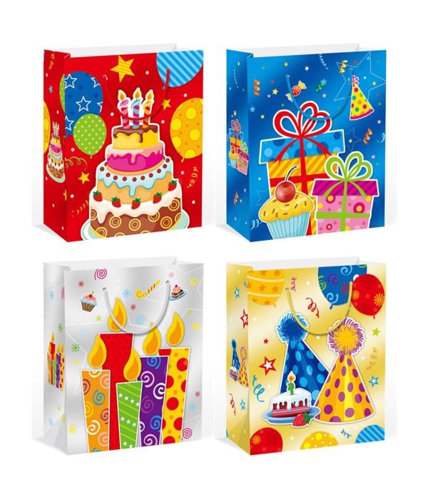 """b'day gift bag 10.5x13x5.5""""/L"""