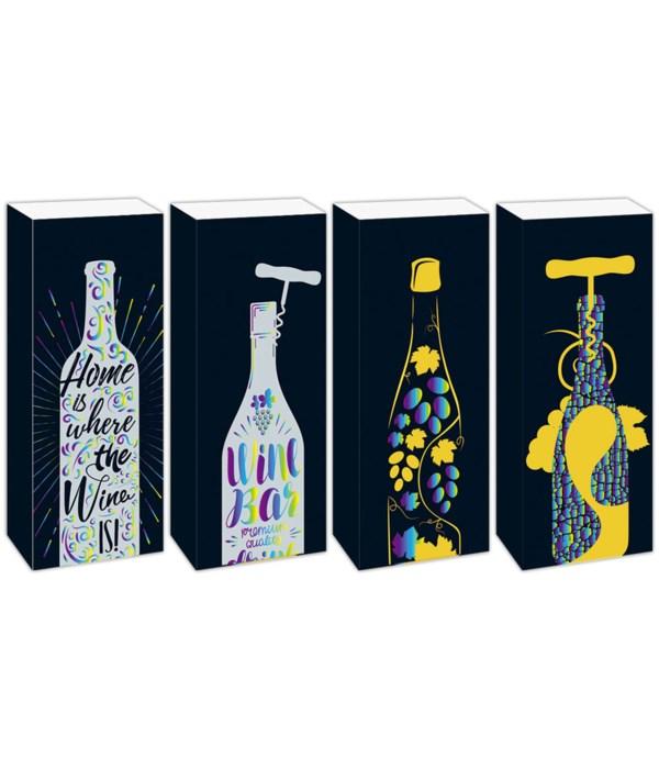 """fancy wine bag 14x5x4""""/72s"""