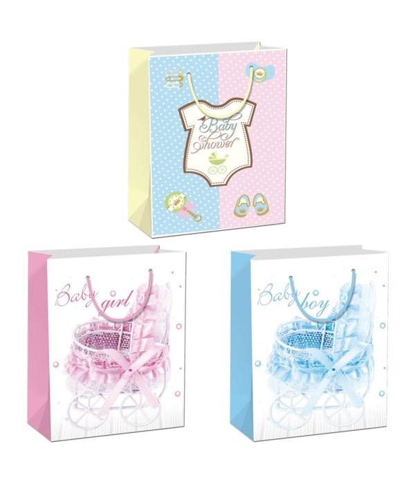 "baby gift bag 13x18x5.5""/XL 72"