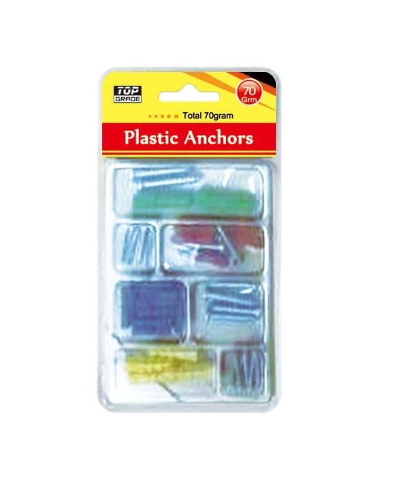 astd plastic anchors 24/96's