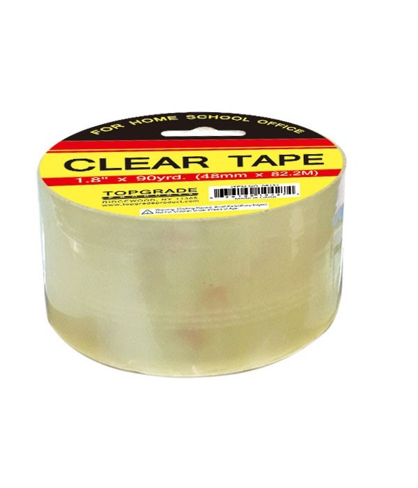 """clear tape 2.37""""x78yd 90's"""