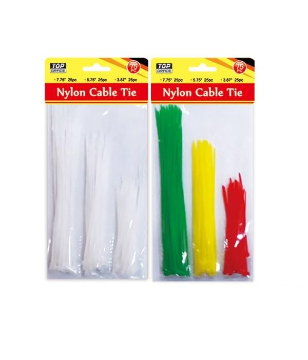75ct nylon cable tie 36/144s